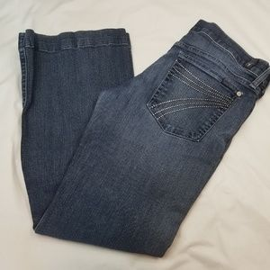 7 for all Mankind Dojo Flare Legs Jeans Size 31